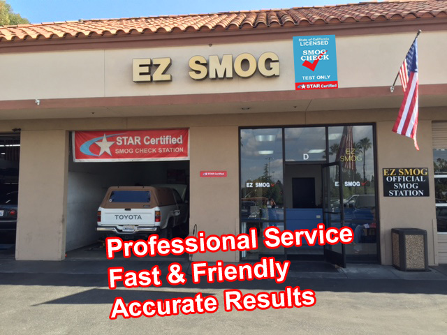 Smog Check Test Center In Lake Forest Orange County